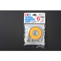 Tamiya - 6mm Masking Tape W/Cutter