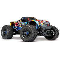 Traxxas - 1/10 MAXX 4S Monster Truck Rock and Roll