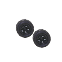 Tornado RC - 1:18 4WD high speed car Wheels Complete (2 Pce)
