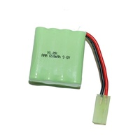 WSN - 9.6V 650Mah Nimh Battery To Suit 1/16 R/C Battle Tanks