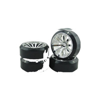 Vision - 10 Spoke Tyre Set (4 Pce)